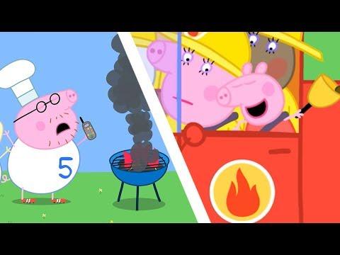 Peppa Pig en Español Episodios completos  El camión de bomberos  Temporada 3  Dibujos Animados