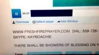 PRAYING IN TONGUES: