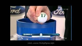 Nicky Byrne at the FAI Ford Cup draw 2013 (Full Draw)