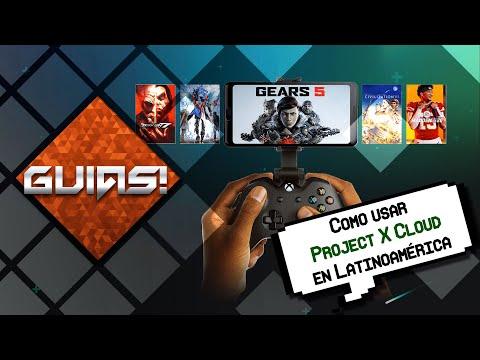 Como jugar con Project X Cloud en Latinoamérica