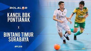Video Kancil BBK Pontianak (4) vs (5) Bintang Timur Surabaya - Highlights Pro Futsal League 2018 MP3, 3GP, MP4, WEBM, AVI, FLV Februari 2018