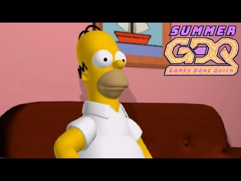 The Simpsons: Hit & Run By Sadlybadlyy In 1:45:45 - SGDQ2018