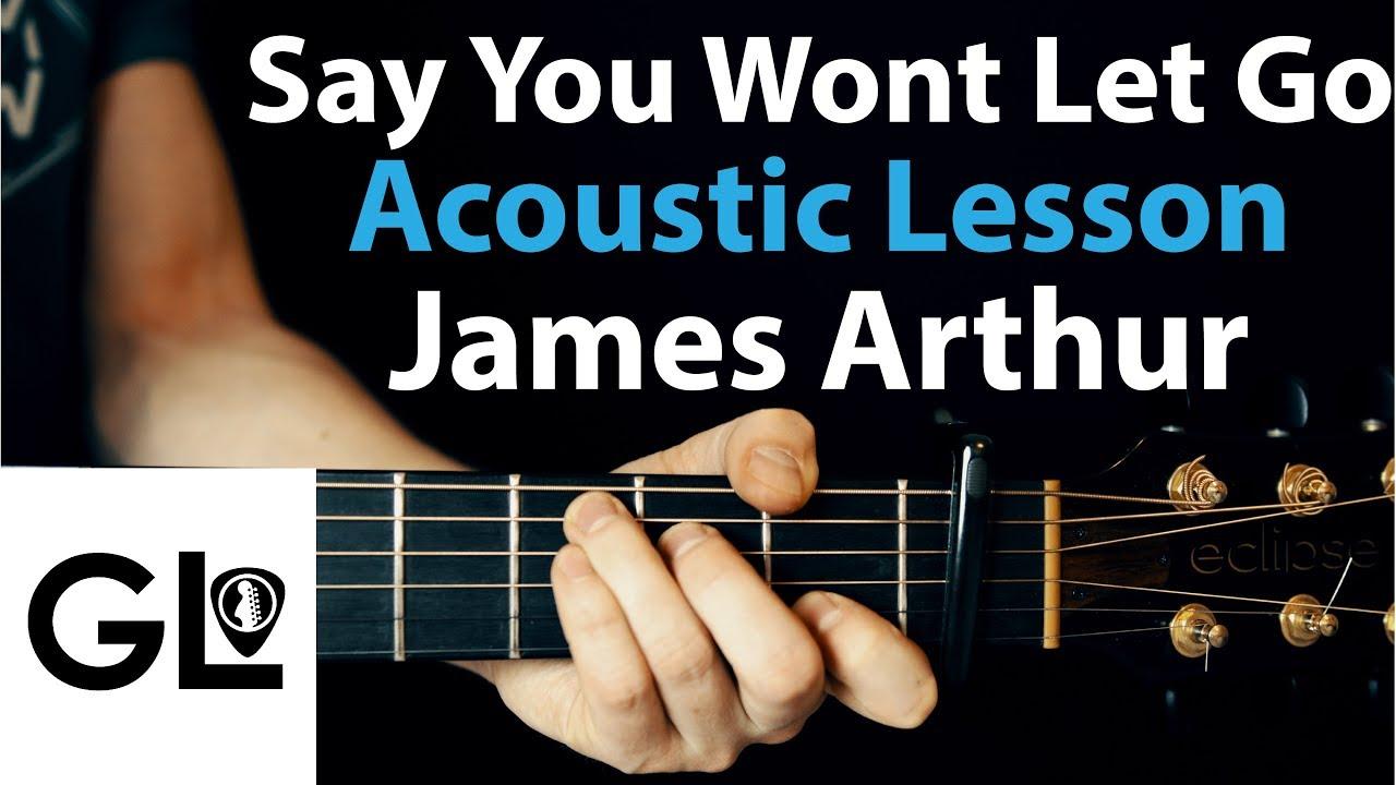 Say You Won't Let Go: James Arthur Guitar Lesson EASY 🎸