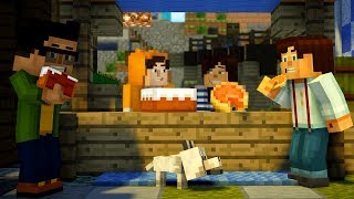 Minecraft Story Mode: Season 2 - Episode 1 - STAMPY CAT VS STACYPLAYS [2]