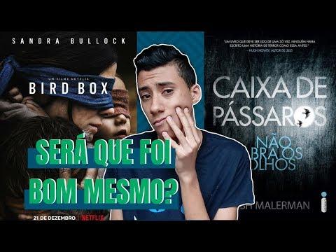CAIXA DE PÁSSAROS / LIVRO Vs. FILME | Meu Mundo Quadrado