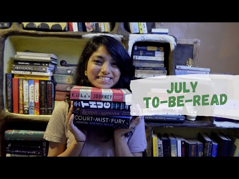 BOOKS TO READ IN JULY   JULY TBR