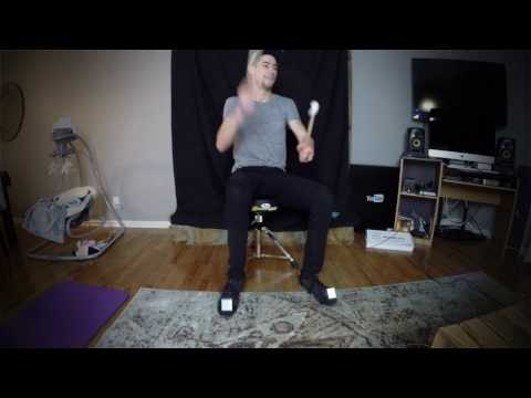 AIR DRUMMING IN REAL LIFE! - Drum Cover Medley