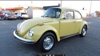 Video 1973 Volkswagen Super Beetle (VW 1303) Start Up, Exhaust, In Depth Review, and Test Drive MP3, 3GP, MP4, WEBM, AVI, FLV Juli 2018