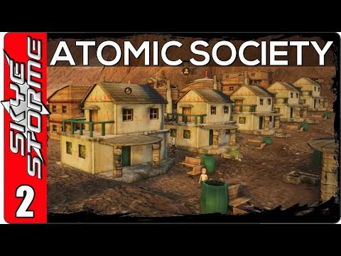 Atomic Society Part 2 ◀ THERE'S A LOT MORE TO THIS GAME ▶ Post-Apocalyptic City Builder