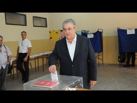 Δήλωση του Δημ. Κουτσούμπα μετά την άσκηση του εκλογικού του δικαιώματος