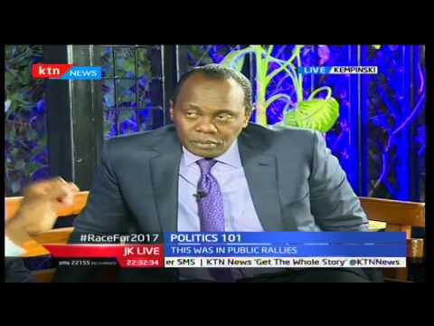 JKL: Politics 101(The Race to 2017); Junet Mohamed and Moses Kuria, 28/09/2016 Part 2
