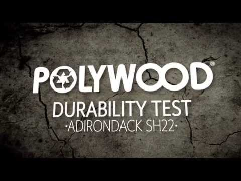 POLYWOOD® Tests - Adirondack SH22 Durability Drop Test