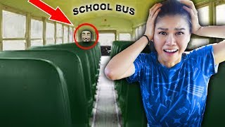 Video HACKER TRAPPED ME in ABANDONED SCHOOL BUS (Escape Room Challenge and Mystery Clues) MP3, 3GP, MP4, WEBM, AVI, FLV Januari 2019