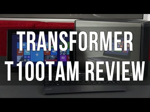 Asus Transformer Book T100TAM review