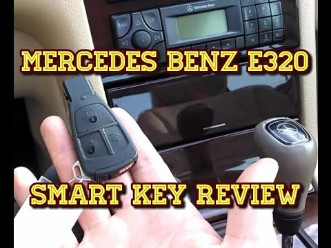 2000 Mercedes Benz E320 – Electronic Smart Key
