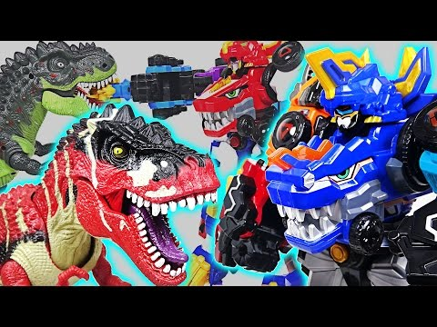 Dinosaurs Devil Attack! Lion Guard, Pororo are dangerous! Go! DinoCore Team! - DuDuPopTOY - Thời lượng: 12:27.