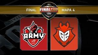 ASUS ROG Army vs G2 Vodafone - #FinalCup11 - Final - Gamergy Orange Edition -Mapa 4