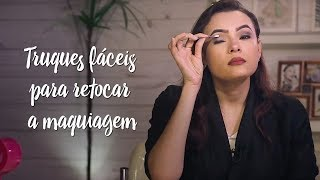 Beleza Express - Truques fáceis para retocar a maquiagem durante o dia