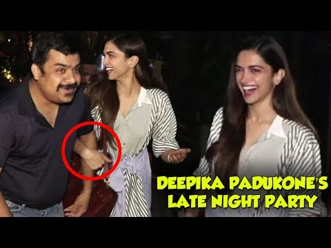 Deepika Padukone Spotted After A Late Night Party
