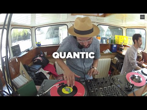 Quantic • Vinyl Set & Interview by Soulist • Le Mellotron