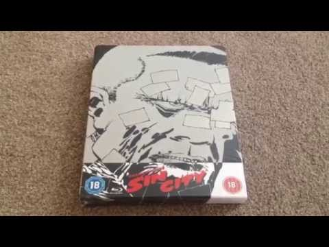 Sin City UK Blu-ray Steelbook Unboxing (Zavvi Exclusive)