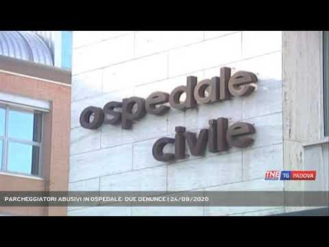 PARCHEGGIATORI ABUSIVI IN OSPEDALE: DUE DENUNCE | 24/09/2020