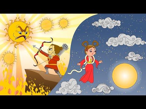 legend of  Mid Autumn festival (animation) 中秋節