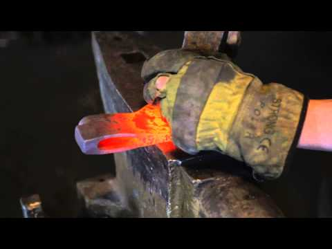 The Birth Of A Tool. Part I. Axe Making (by John Neeman Tools)
