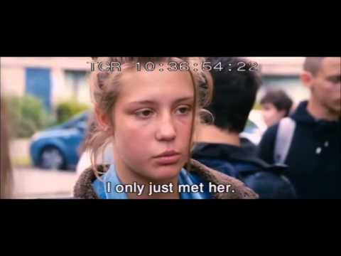 Blue is the warmest color (fight scene)