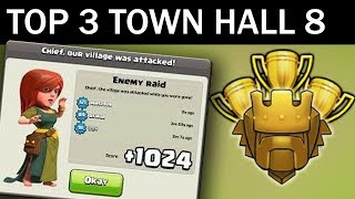 Nonton Top 3 Town Hall 8 Trophy Base 2017   Coc Th8 Best Trophy Pushing Layouts   Clash Of Clans Film Subtitle Indonesia Streaming Movie Download