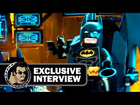 We interview Lego Batman and the Joker! (2017)