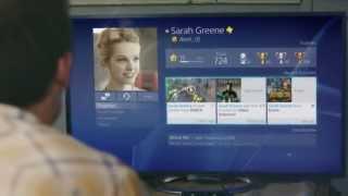 Un aperçu de l'interface de la PlayStation 4