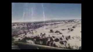 חורף בישראל: נסיעה בשלג מבית אל לגבעת אסף
