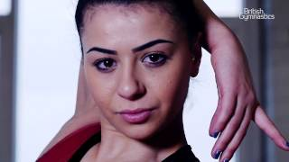 We caught up with Claudia at Bristol Hawks Gym Club to talk about Strictly, her thoughts about the colour pink, and her return to Gymnastics, starting with t...