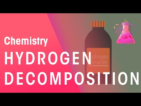Decomposition of Hydrogen Peroxide | Chemistry for All | The Fuse School