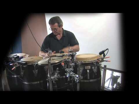Tumbao 4-conga melodic rhythm