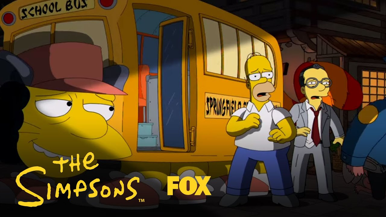 The Simpsons' Tribute To Miyazaki