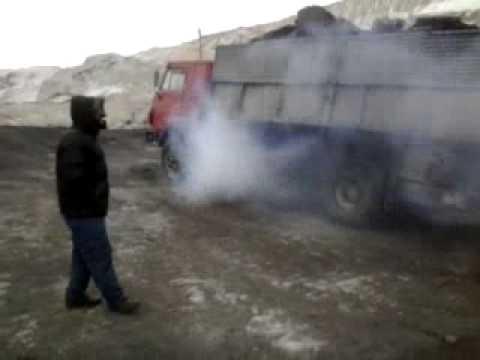 Камаз на вывоз угля фотография