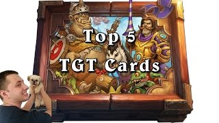 Top 5 Grand Tournament Cards to Impact the Game! [Hearthstone]