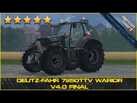Deutz Fahr 7250TTV Warrior v5.0 Wheel Shader