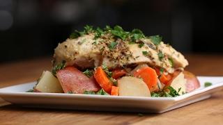 Easy Foil-Pack Lemon and Rosemary Chicken Dinner by Tasty
