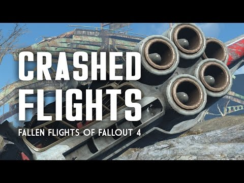 The Full Story of All Crashed Flights in Fallout 4