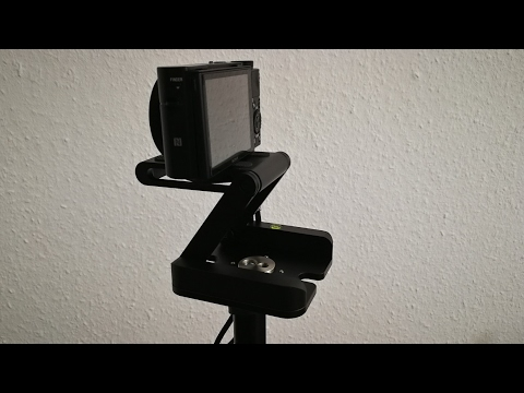 Andoer Z Flex Stativ Kopf Kameraneiger Flex Tilt Head