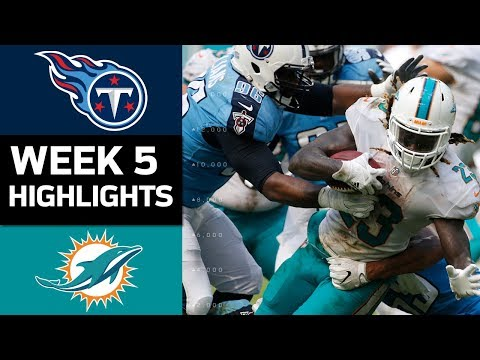 Video: Titans vs. Dolphins | NFL Week 5 Game Highlights