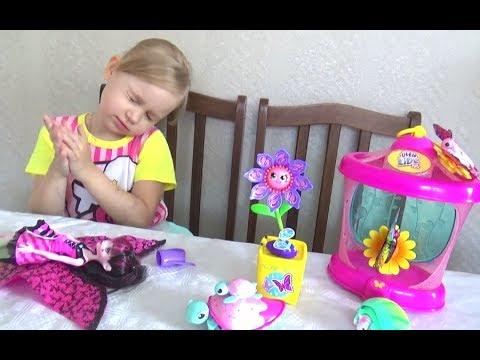 Новые ИГРУШКИ Алисы Что купила Алиса Развлечение для детей Entertainment for children (видео)