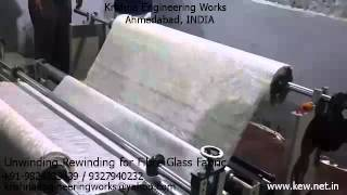 Unwinding Rewinding for Fiber Glass Fabric – Krishna Engineering Works