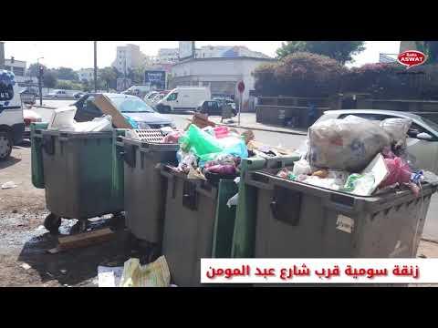 احياء الدار البيضاء غارقة في النفايات