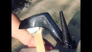 Carbon Fiber Stiletto Heels By Carbon Fiber Art
