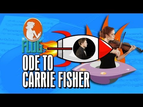 Felicia Day hraje na housle s Tomem Lenkem