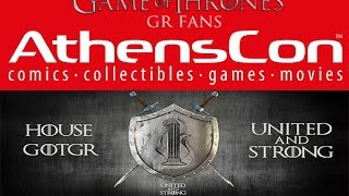 AthensCon2015 Review: http://www.gameofthrones-grfans.com/2...Athenscon2015 Facebook: https://www.facebook.com/AthensCon/Site: http://www.athenscon.gr/el/Δημιουργία video-intro: http://silentvelcro.tv/Site: http://www.gameofthrones-grfans.com/Facebook: http://www.facebook.com/pages/Game-Of...Twitter: https://twitter.com/#!/GameOfThronesGrGoogle plus: https://plus.google.com/b/11539681737...Map: http://www.gotgrmap.com/My Lefkada Video Gallery: http://video.mylefkada.gr/category/ga...MusicSong: Disfigure - Blank [NCS Release]https://www.youtube.com/watch?v=p7ZsB...Title: Disfigure - BlankFollow Disfigure:http://www.facebook.com/DisfigureOffi...http://www.soundcloud.com/disfigureof...http://www.youtube.com/user/Disfigure...